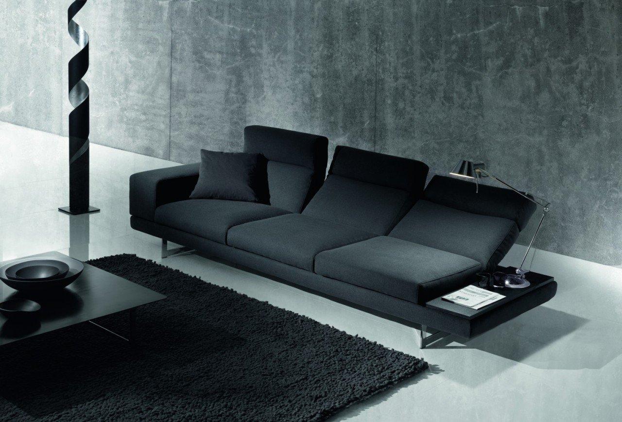 877 1 exco sofa book divano in tessuto